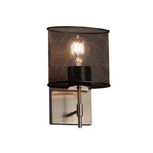 Bennett 1-Light Armed Sconce by 17 Stories