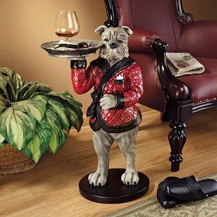 Rex, the Bachelor Bulldog Sculptural End Table