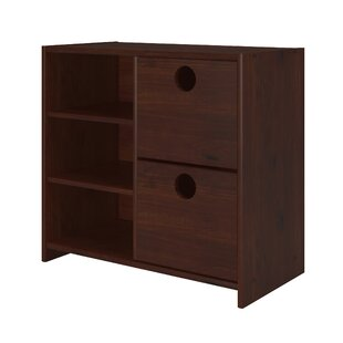Harriet Bee Felisha 2 Drawer Combo Dresser