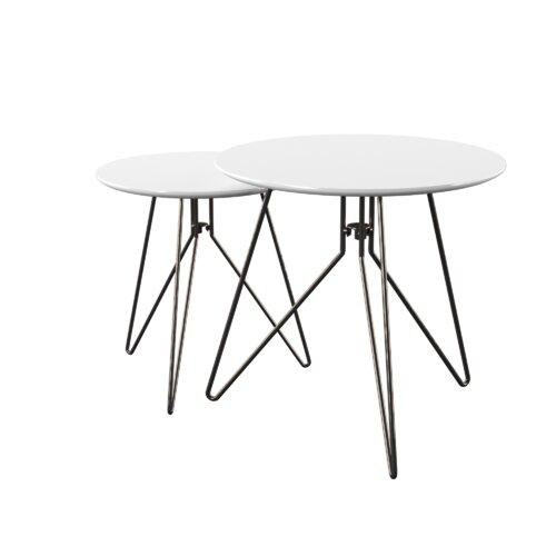 2 Satztische Dolly Zipcode Design   Wohnzimmer > Tische > Satztische & Sets   Zipcode Design