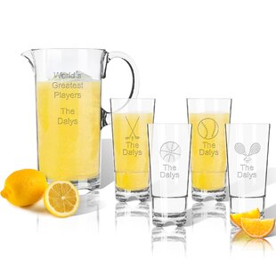 Tritan Sports 5 Piece Beverage Serving Set