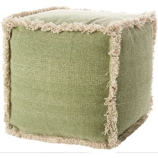 Read Reviews Mika Solid Pouf ByBungalow Rose