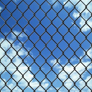 Erhard 15m X 1.25m Chain Link With Spike Anchors Fence Set By Sol 72 Outdoor