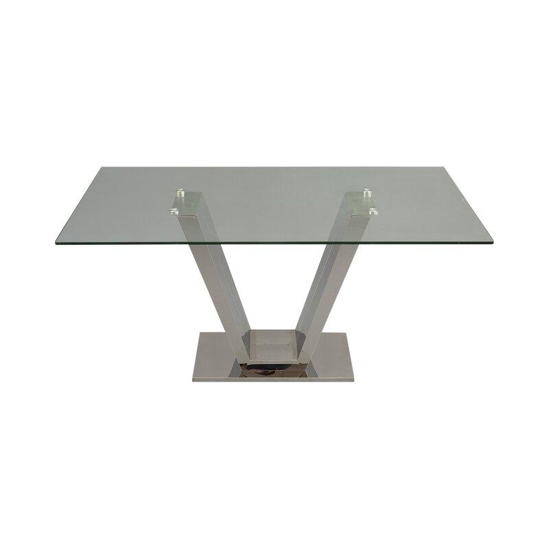 Hokku designs esstisch aus glas - Esstisch aus glas ...