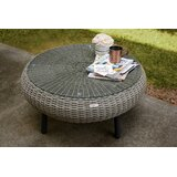 Anika Wicker/Rattan Coffee Table