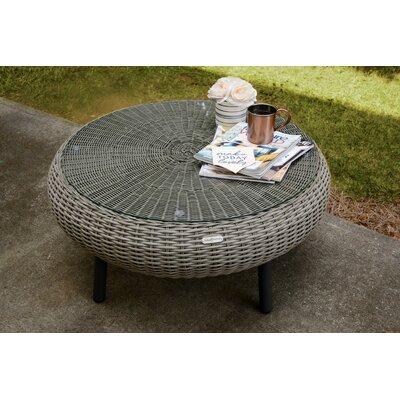 Anika Wicker/Rattan Coffee Table by Bay Isle Home #2