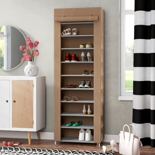 Price Check 10-Tier 10 Pair Shoe Rack By Rebrilliant