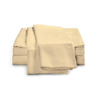 Estela 1200 Thread Count Egyptian-Quality Cotton Sheet Set