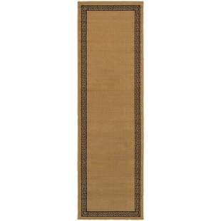 Houlton Beige/Black Indoor/Outdoor Area Rug