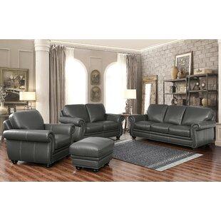 Fairdale 4 Piece Leather L..