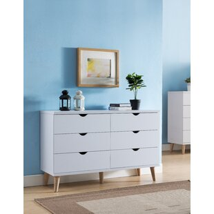 Savings Bowie 6 Drawer Double Dresser by Trule Teen Reviews (2019) & Buyer's Guide