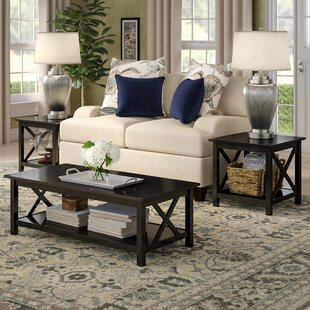 Low priced Donny 3 Piece Coffee Table Set By Red Barrel Studio