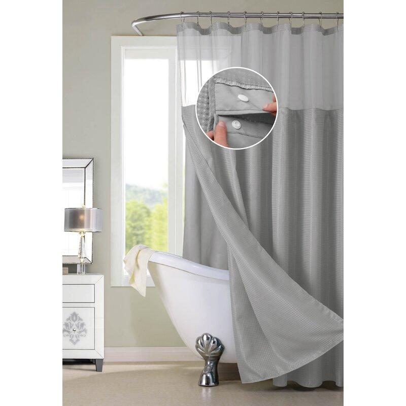 Susquehanna Water Repellent Shower Curtain