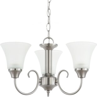Buren 3-Light Shaded Chandelier by Darby Home Co