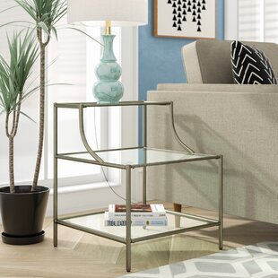 Saira End Table by Wrought..
