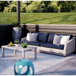 Castelli 2 Piece Sofa Set with Cushions by Wade Logan