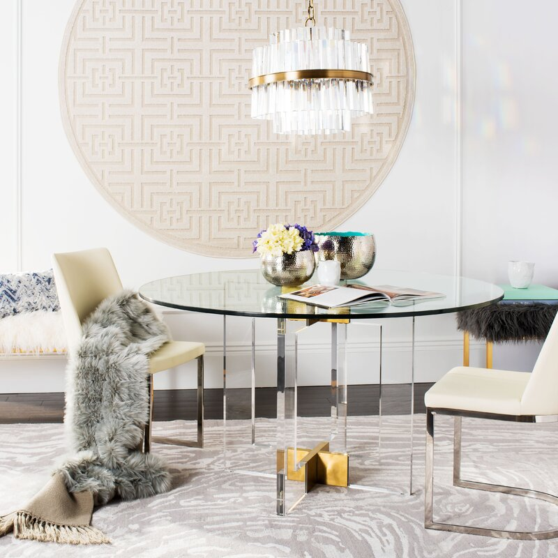 Marvelous Gosta Round Glass Dining Table Best Image Libraries Thycampuscom