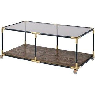 Maconay Metal Frame Coffee Table