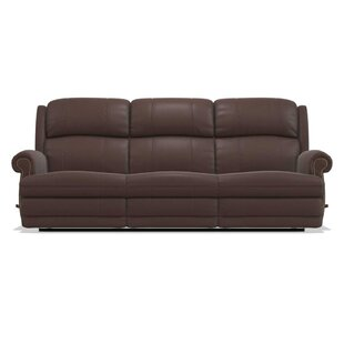 Reviews Kirkwood Reclina-Way® Full Leather Reclining Sofa by La-Z-Boy Reviews (2019) & Buyer's Guide