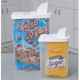 Multi-Use 2 Container Cereal Dispenser