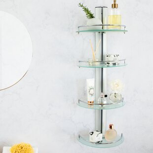 Inexpensive Avi 4-Tier 11.5 W x 30.5 H Wall Mounted Shelving By Orren Ellis