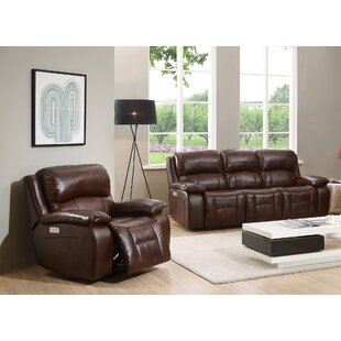 Westminster II Reclining Leather 2 Piece ..