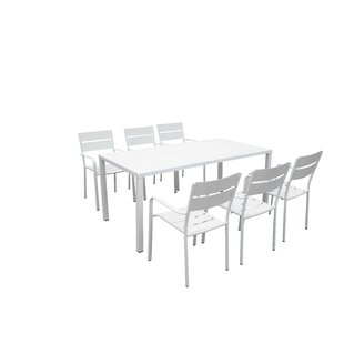 Molnar Metal Dining Table by Brayden Studio