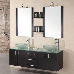 Bathroom Floating Vanity Wayfair - Floating bathroom countertop
