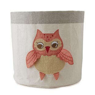 Compare Baby Owls Toy Storage Bin By The Little Acorn