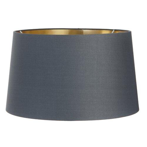 34 cm Lampenschirm aus Leinen Zipcode Design Farbe: Anthrazit | Lampen > Lampenschirme und Füsse | Zipcode Design