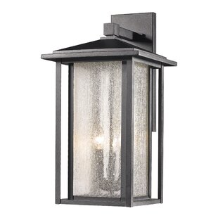 Bloomsbury Market Hungate 3-Light Outdoor Wall Lantern