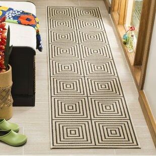 Find the perfect Horne Creme/Black Area Rug ByBrayden Studio
