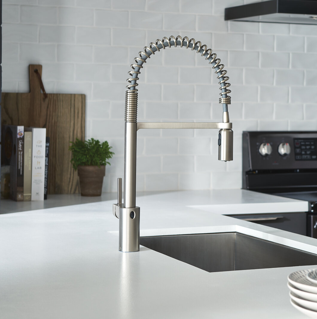 Moen Align Pull Down Touchless Single Handle Kitchen Faucet With