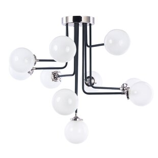 Corrigan Studio Sam 10-Light Semi Flush Mount