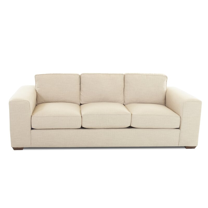 Alcott Hill  Skaggs Sofa Upholstery Material/Body Fabric: Zula Rawhide