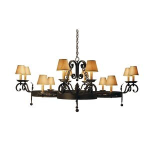 2nd Ave Design Andorra 12-Light Shaded Chandelier