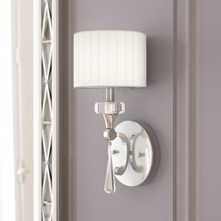 Austine 1-Light Armed Sconce by Willa Arlo Interiors