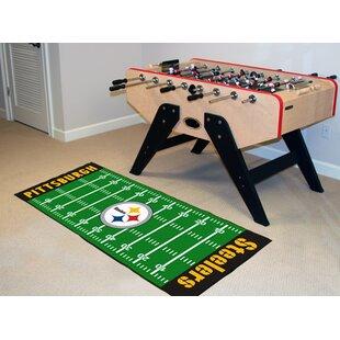 NFL - Pittsburgh Steelers Football Field Runner ByFANMATS