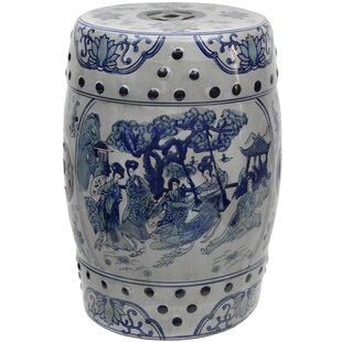 Christien Porcelain Garden Stool