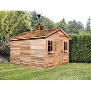 Cedarhouse Solid Wood Storage Shed By Cedarshed