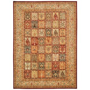 Ancient Times Asian Dynasty Multicolor Area Rug