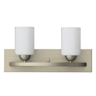 Latitude Run Jurgens 2-Light Vanity Light