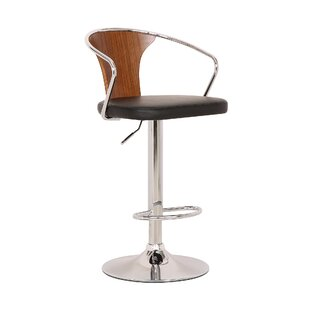 Gregor Adjustable Height Swivel Bar Stool..