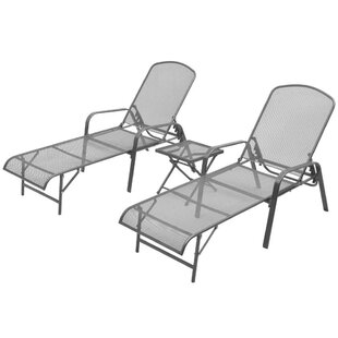 Carver Sun Lounger Set With Table Image