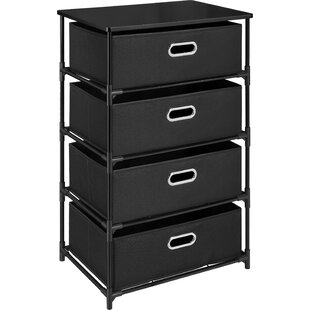 Comparison Bohnsack 4 Drawer Storage Unit End Table ByEbern Designs