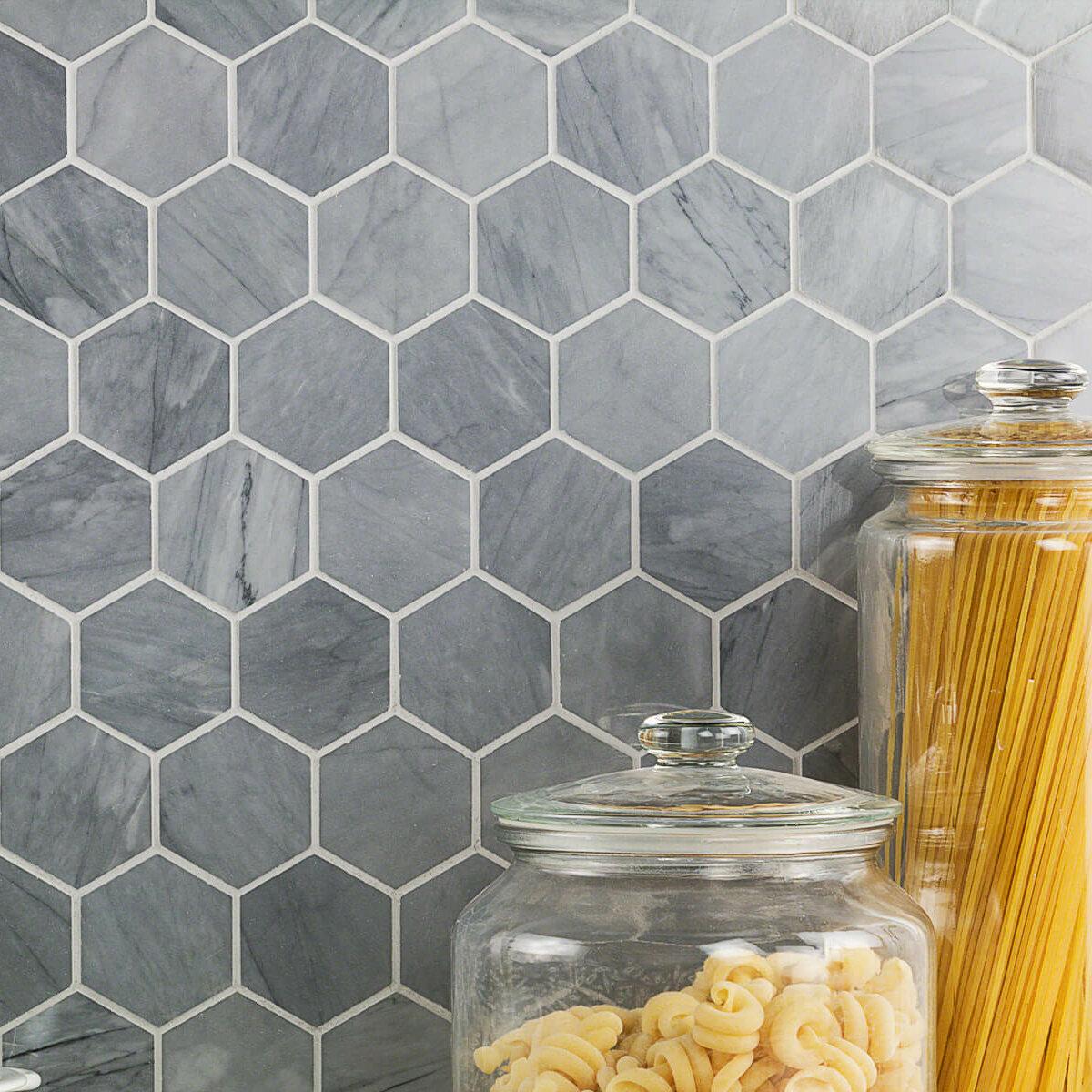 Ivy Hill Tile Stowe Hexagon Honeycomb 2