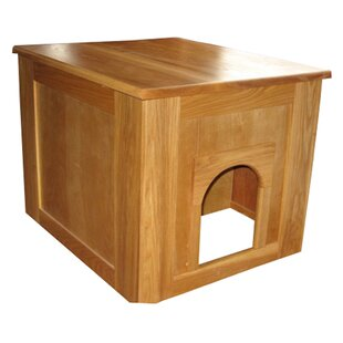 Flat Panel Litter Box Concealment Cabinet by Classic Pet Beds