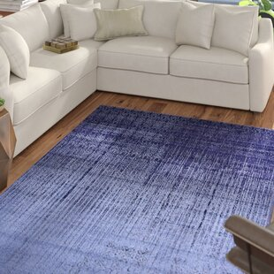 Dorfman Blue Area Rug by Ebern Designs