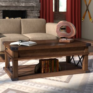 Fusillade Coffee Table with Lift Top by Loon Peak
