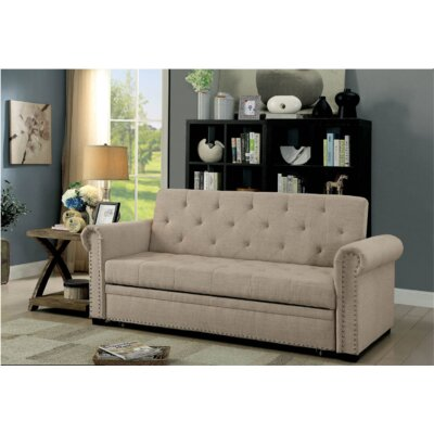 Vesuvio Futon Sofa Canora Grey
